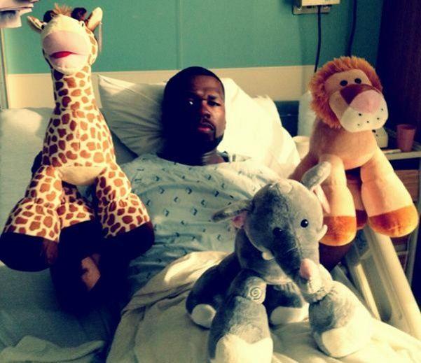 50 Cent entouré de ses peluches  (DR)