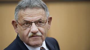 L'ancien maire de la Faute-sur-Mer René Marratier, le 17 octobre 2014,aux Sables-d'Olonne (Vendée). (JEAN-SEBASTIEN EVRARD / AFP)
