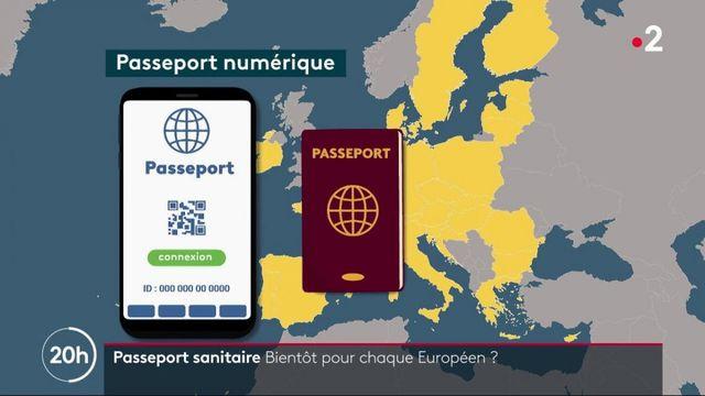 Covid-19 : les citoyens européens seront-ils bientôt dotés d'un passeport vaccinal ?