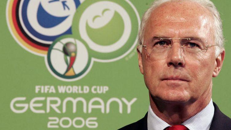 L'ancien champion du monde, Franz Beckenbauer, était président du comité d'organisation du Mondial 2006