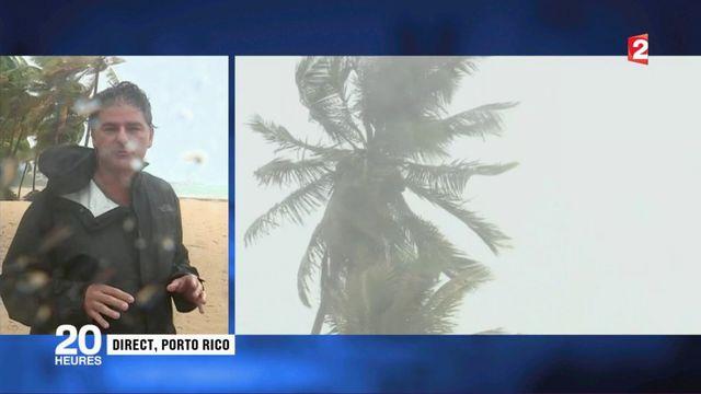 Ouragan Irma : à Porto Rico, on se prépare à la tempête