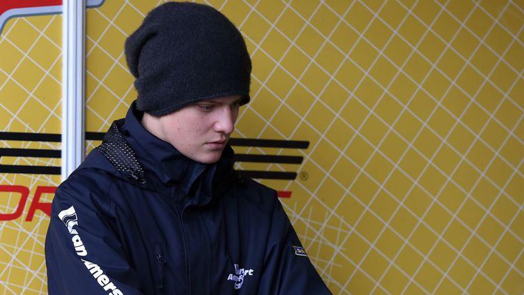 Mick Schumacher, champion d'Europe junior de karting (RONNY HARTMANN / AFP)