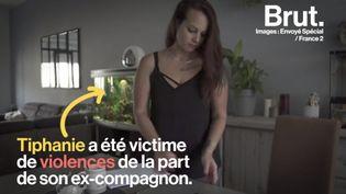 Le témoignage poignant de Tiphanie, battue et humiliée par son ex-conjoint. (BRUT)