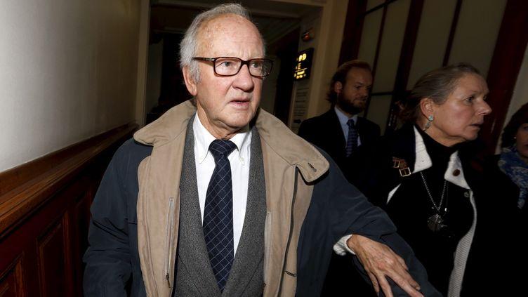 (Pierre Pallardy lors de son procès le 18 octobre 2015 ©MaxPPP)