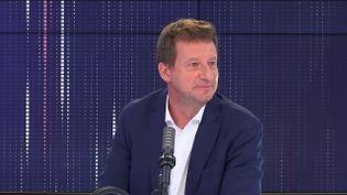 Yannick Jadot, eurodéputé EELV, était l'invité de franceinfo vendredi 11 juin 2021. (FRANCEINFO / RADIO FRANCE)