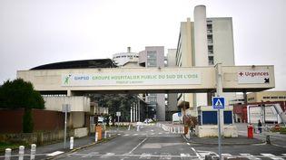 L'hôpital de Creil (Oise). (MARTIN BUREAU / AFP)