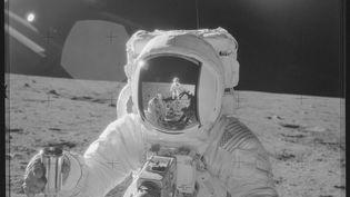 Une image de la mission Apollo 12, la deuxième à se poser sur la Lune, en novembre 1969. (NASA / FLICKR.COM)