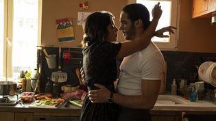 """Leïla Bekhti (à gauche) et Tahar Rahim dans la série """"The Eddy"""". (ROGER DO MINH)"""