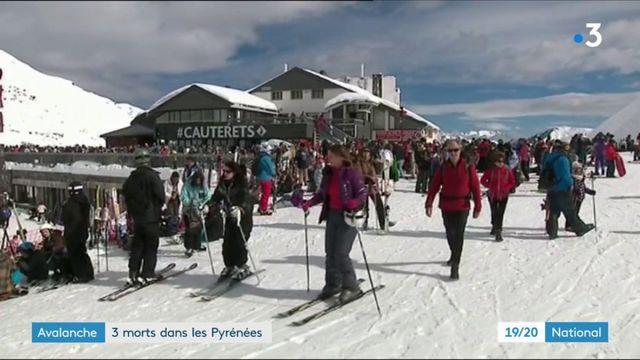 Avalanches : trois morts dans les Pyrénées