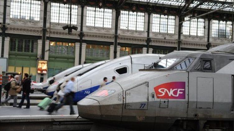 Sncf: trains à l'attente après l'agression d'un contrôleur (MIGUEL MEDINA / AFP)