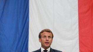Emmanuel Macron, le 26 mai 2020. (LUDOVIC MARIN / POOL)