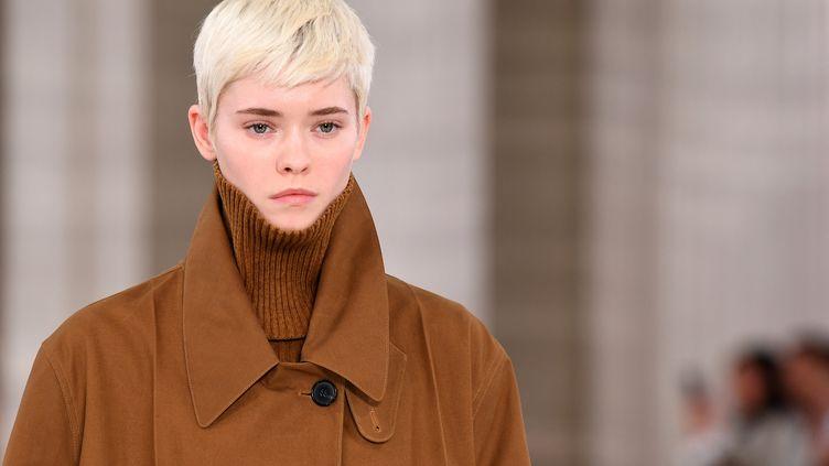 Victoria Beckham automne-hiver 2020-21 à la London Fashion, le 16 février 2020 (DANIEL LEAL-OLIVAS / AFP)