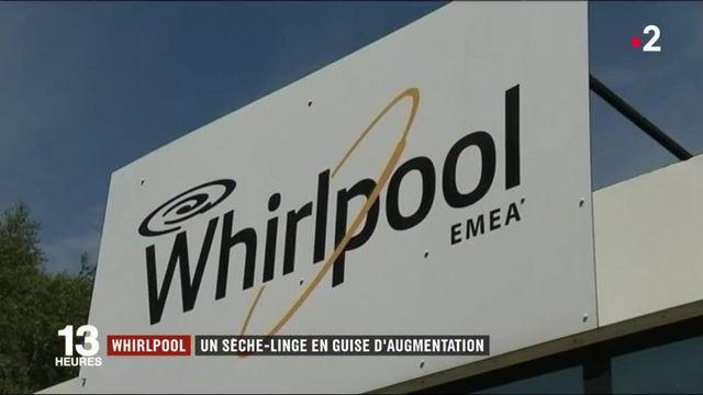 Whirlpool : un sèche-linge en guise d'augmentation