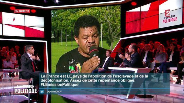 """""""L'Emission politique"""" : Elie Domota et François Fillon s'affrontent sur la question de la colonisation"""