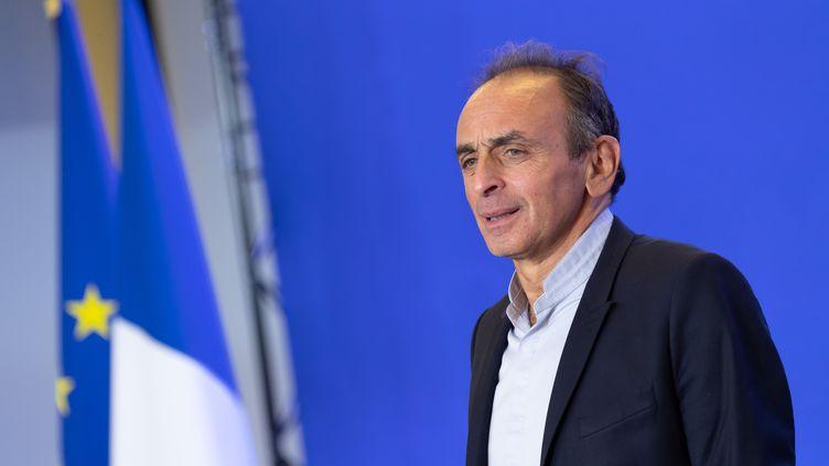 Eric Zemmour à Paris, le 31 janvier 2019. (JACQUES WITT/SIPA)