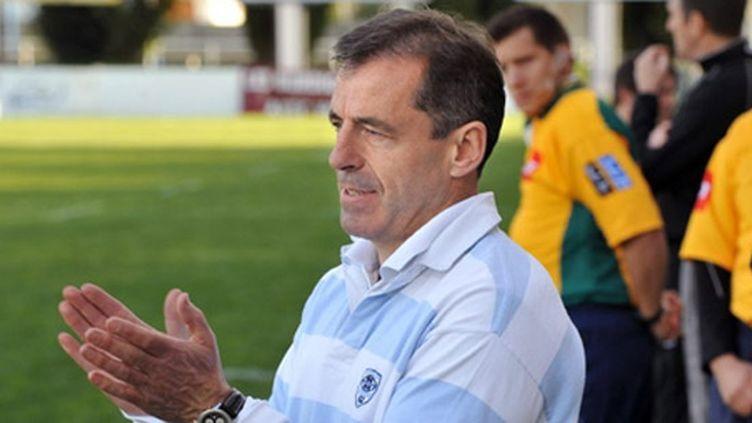 Pierre Berbizier, directeur sportif du Racing-Métro