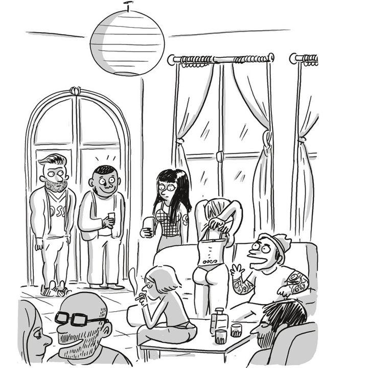 """""""La fabrique pornographique"""", Lisa Mandel (page 22)  (Lisa Mandel / Sociorama-Casterman)"""