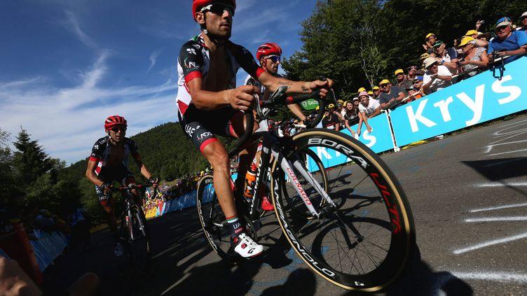 Le coureur italien Diego Ulissi (LIONEL VADAM / MAXPPP)