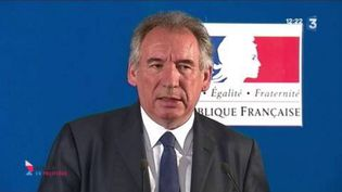 François Bayrou (CAPTURE D'ÉCRAN FRANCE 3)
