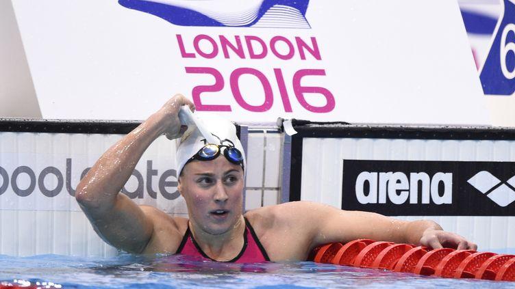 Charlotte Bonnet est en bonne position pour décrocher un podium sur 200m nage libre (STEPHANE KEMPINAIRE / STEPHANE KEMPINAIRE)