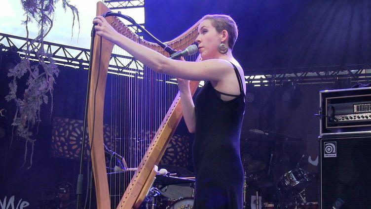 Laura Perrudin sur la grande scène de Jazz à Vienne pour la première fois  (anne-Elisabeth Philibert)