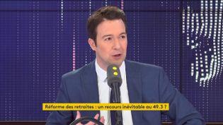 Guillaume Peltier – Vice-Président délégué des Républicains, député LR de Loir-et-Cher invite de franceinfo le 25 février 2020. (FRANCEINFO / RADIO FRANCE)