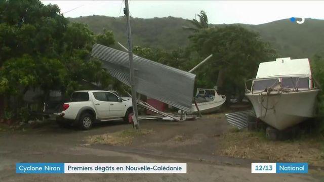 Cyclone Niran : premiers dégâts en Nouvelle-Calédonie