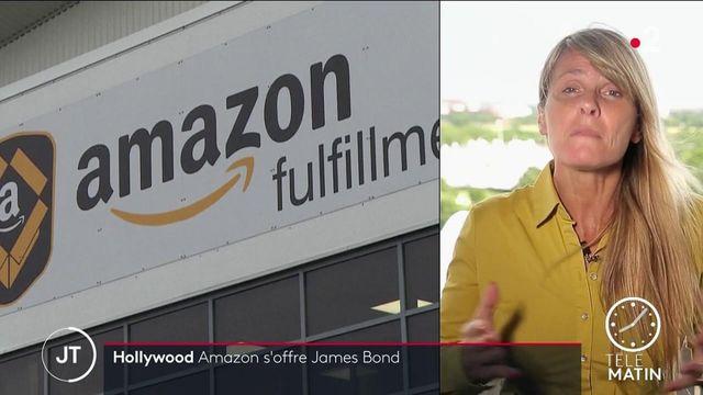 Cinéma: Amazon rachète le mythique studio hollywoodien MGM