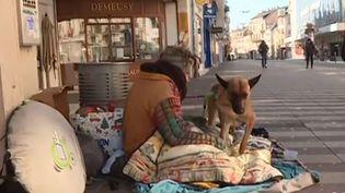 sans abri avec ses chiens à belfort (France 3)
