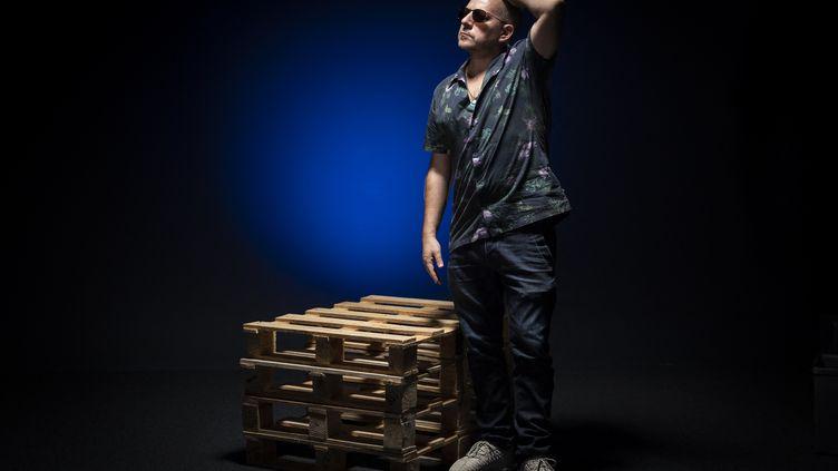 Mathias Cassel, alias Rockin' Squat (RCKNSQT), Paris 2019. (LIONEL BONAVENTURE / AFP)