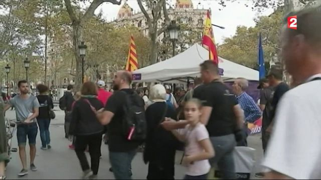 Espagne : les partisans de l'union se manifestent