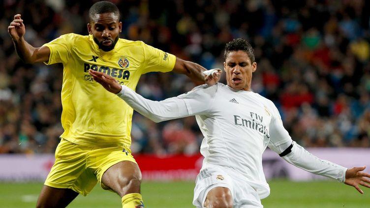 Varane a été très précieux dans la défense du Real (JUANJO MARTIN / EFE)