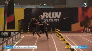 La course à pied, ou running, est de plus en plus répandue en France. (CAPTURE ECRAN FRANCE 3)