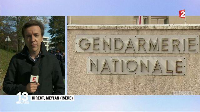 Isère : l'incendie contre les gendarmes est d'origine criminelle