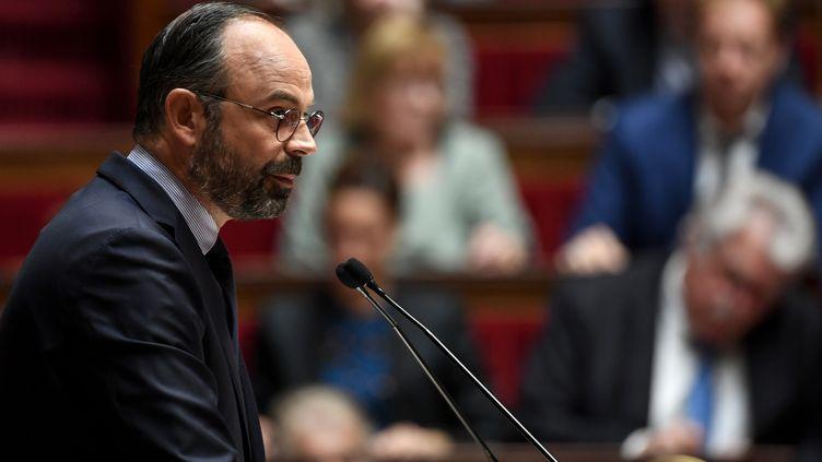 Le Premier ministre Edouard Philippe, à l'Assemblée nationale, à Paris, le 12 juin 2019. (ALAIN JOCARD / AFP)