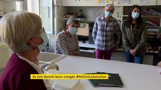 Solidarité à l'hôpital d'Aurillac (France 3 Auvergne)