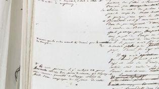 Dans un dossier de 74 pages, on peut lireles confessions de Napoléon Bonaparte sur la fameuse bataille d'Austerlitz. (CAPTURE D'ÉCRAN FRANCE 3)