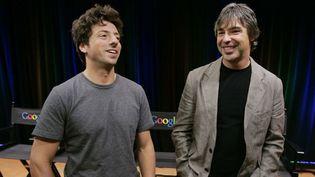 (Sergey Brin et Larry Page, en 2008 © Paul Sakuma/AP/SIPA)