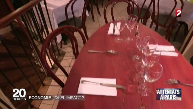 Attentats de Paris : quel impact sur l'économie française ?