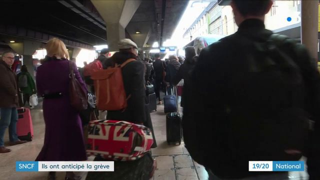 Grève à la SNCF : les usagers ont anticipé les perturbations