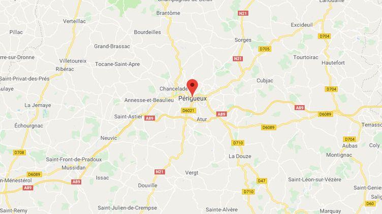 La ville de Perigueux en Dordogne. (GOOGLE MAPS / FRANCETV INFO)