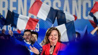 Nathalie Loiseau, au centre des congrès de Caen, le 6 mai 2019. (DAMIEN MEYER / AFP)