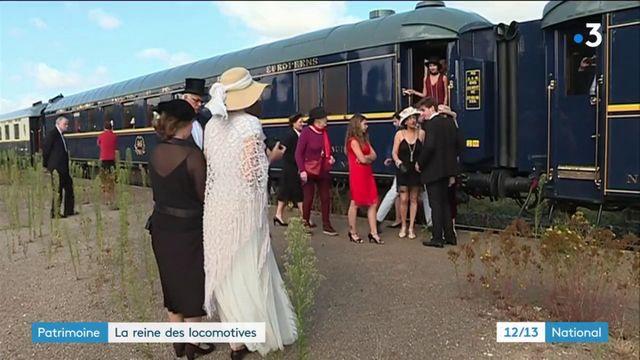 Patrimoine : la reine des locomotives