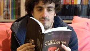 """Vincent Henry, le créateur de la maison d'édition La Boîte à Bulles"""" avec le roman graphique de Nicolas Wild """"Ainsi se tutZarathoustra""""  (France 3 Culturebox)"""