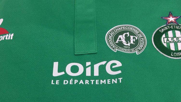 Le logo des Verts sera accompagné par le logo de Chapecoense contre l'OM