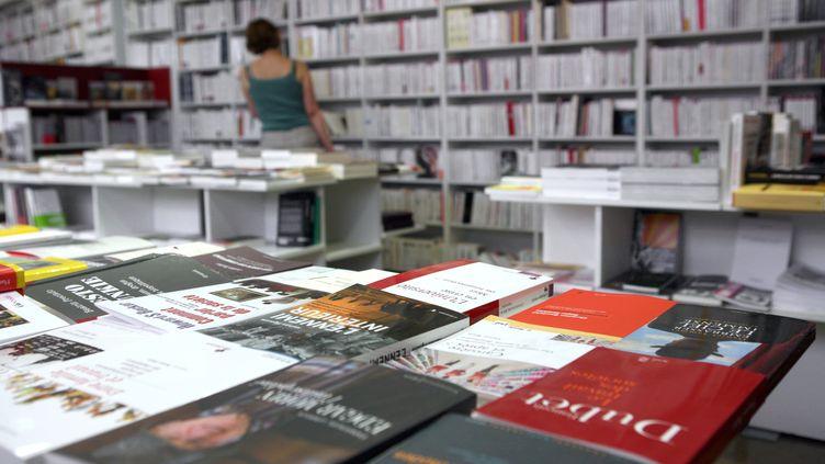 Le taux de TVA sur le livre va passer de 5,5 % à 7 % dans le cadre du plan de rigueur annoncé lundi 7 novembre 2011. (LOIC VENANCE / AFP)