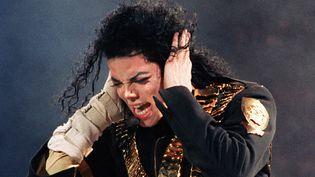 Michael Jackson sur scène à Singapour le 29 août 1993  (Roslan Rahman / AFP)