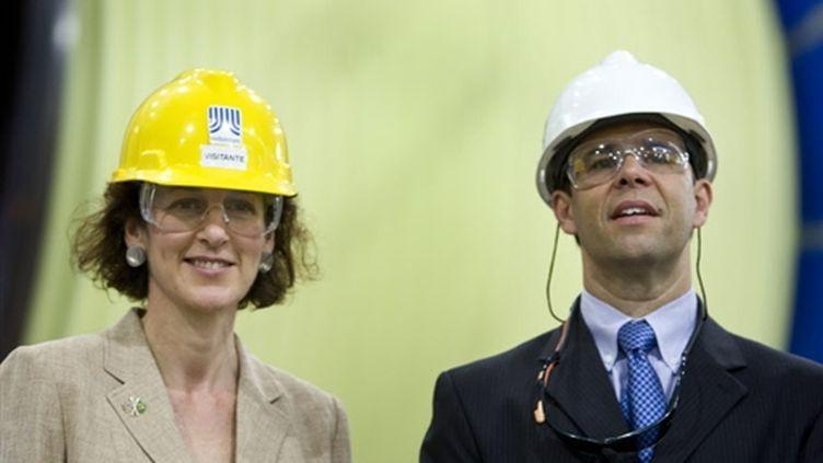La ministre britannique de la Santé, Gillian Merron (gauche) (AFP Antonio Scorza)