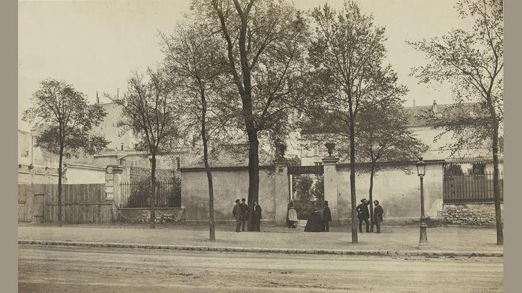 Charles Marville, Un coin du boulevard Saint-Jacques, tirage sur papier albuminé, 1873-74, d'après un négatif sur verre au collodion humide, 1865-1868  (Musée Carnavalet, Histoire de Paris)