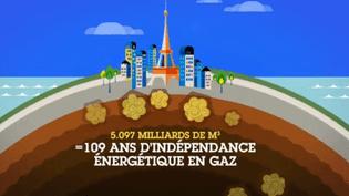 Les réserves françaises en gaz de schiste correspondraient à plus d'un siècled'indépendance énergétique en gaz. (FRANCE 5 / OWNI)